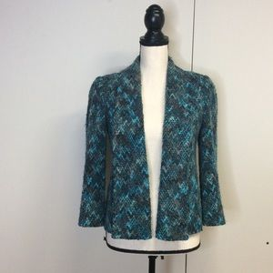 Muse For Boston ProperTweed Jacket Teal Green 2